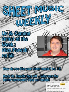 Sheet Music Weekly