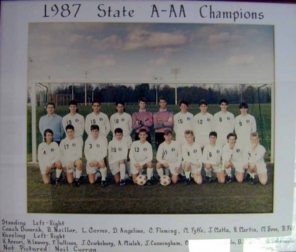 1987 Boys State A-AA Champions