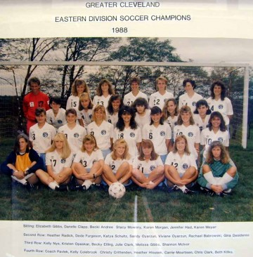 1988 Girls Eastern Division Champions