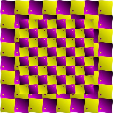 Purple Yellow Illusion