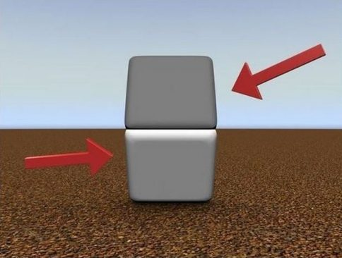 Skeptical? Put your finger across the line where the two images meet