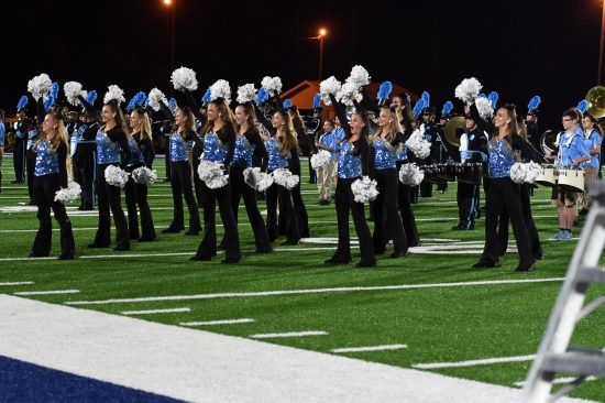 Kenston Dance Team and Marching Band