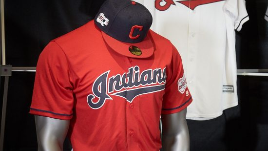 Indians Red Alternate Jersey