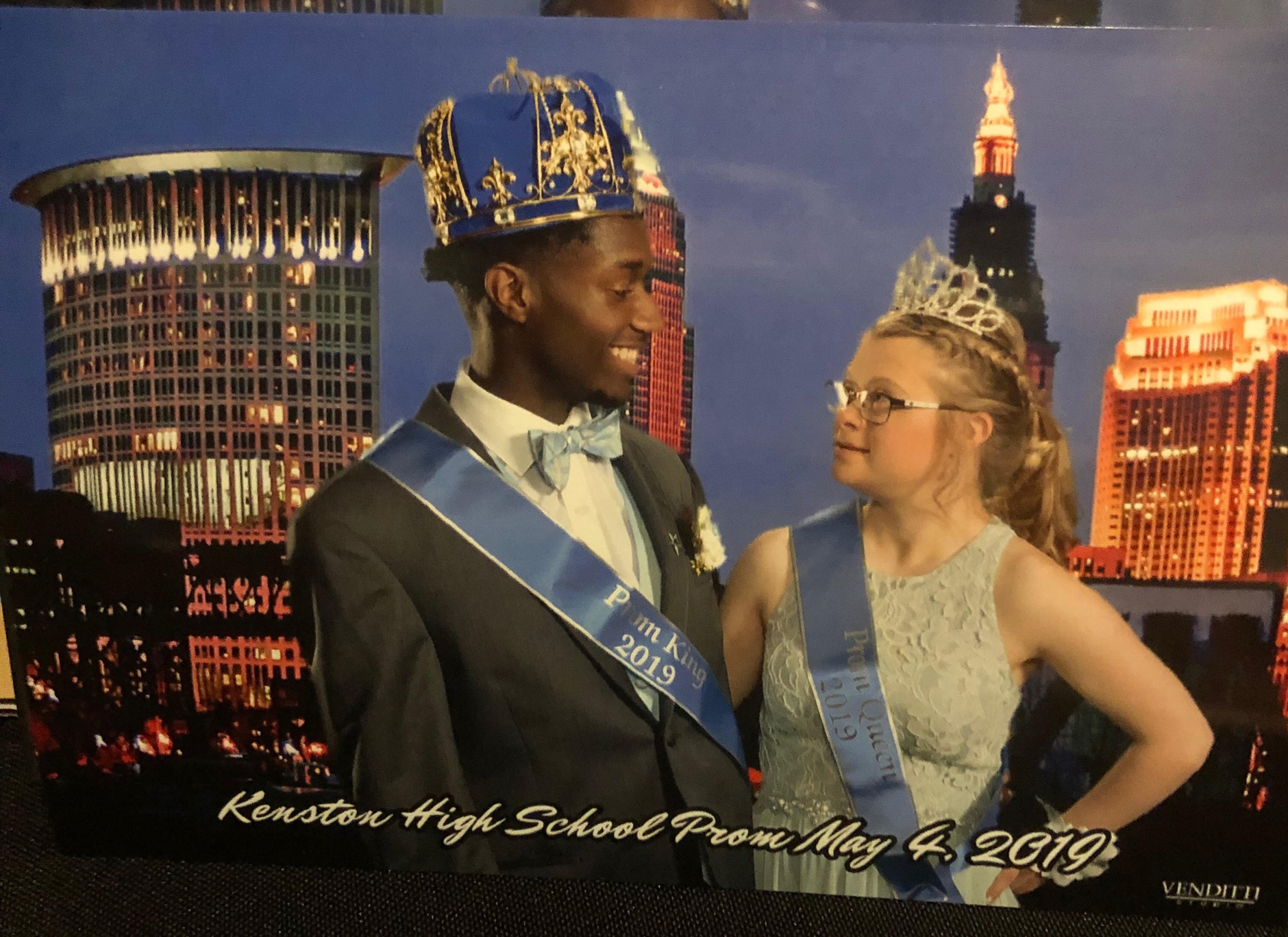 Queen April Rose and King Bransen Stanley