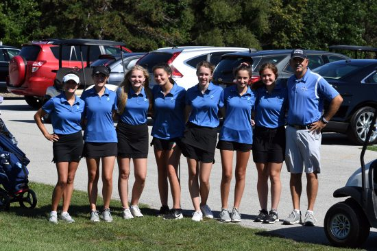 2019-2020 Girls Golf Team