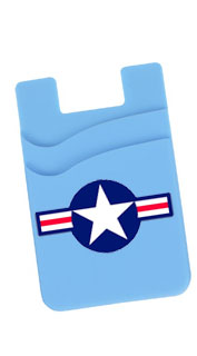 Bomber Blue Phone Wallet