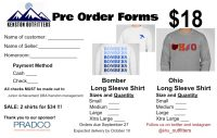 Long Sleeve Order Forms