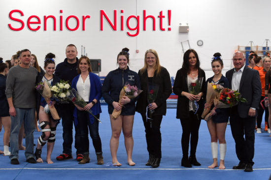 Gymnastics Senior Night