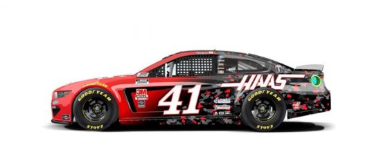 Cole Custer's #41 Haas Automation Ford.