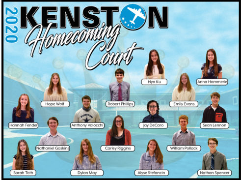 2020 Homecoming Court Composite Photo